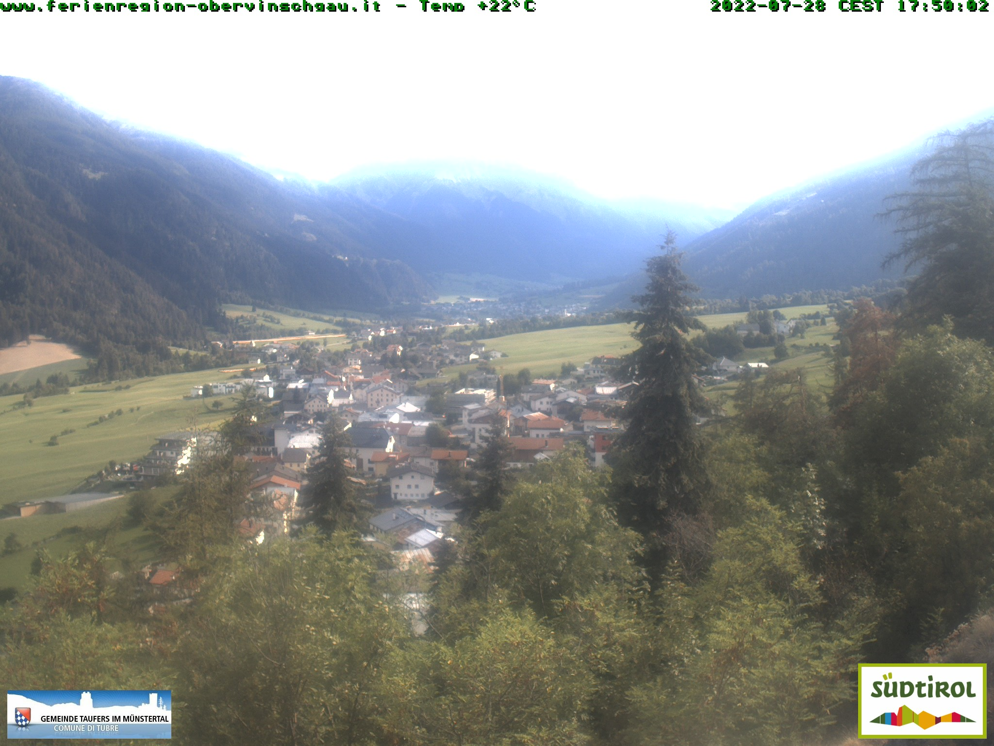 Webcam Taufers im Münstertal/Tubre