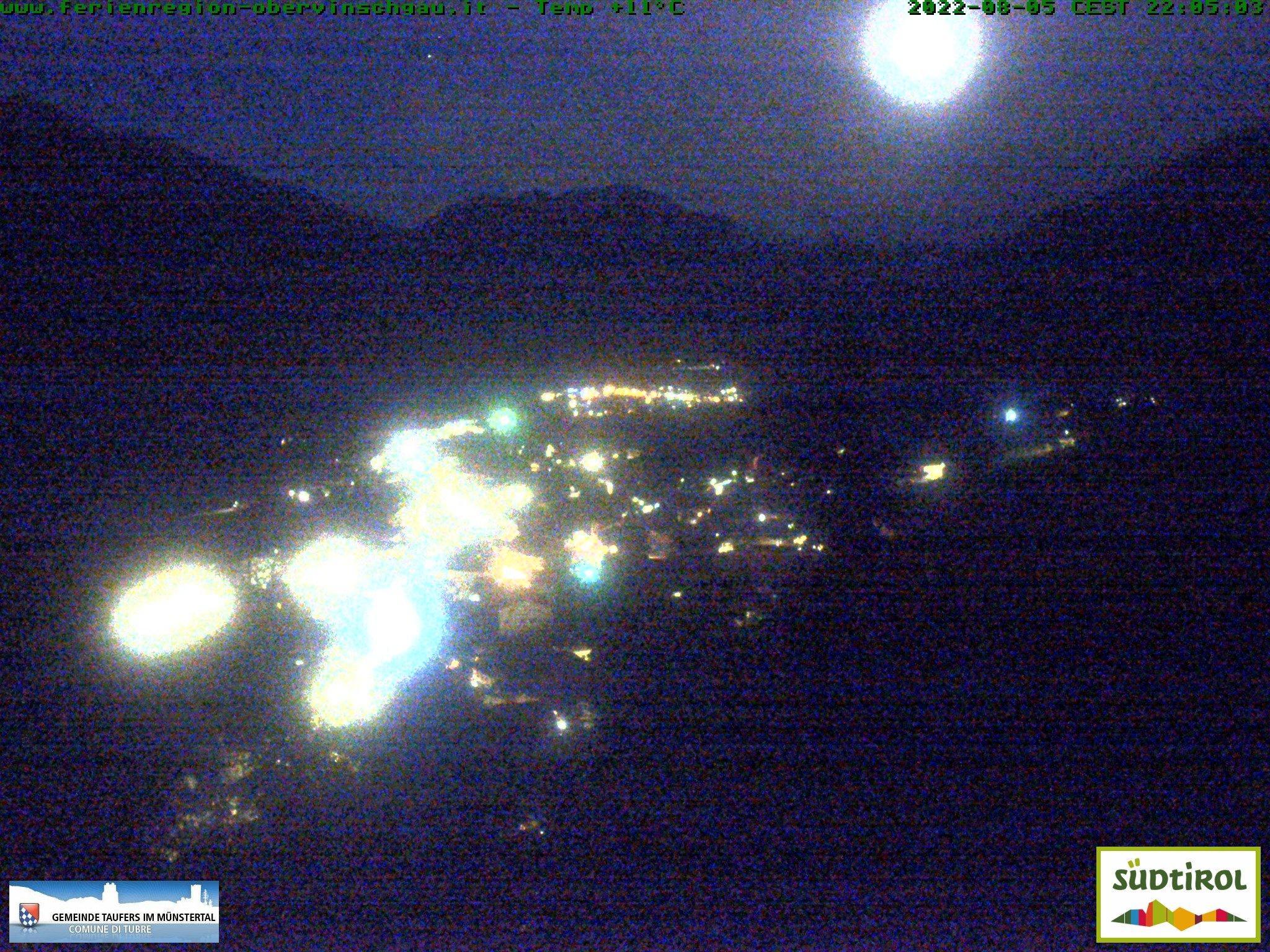 Webcam Taufers im Münstertal