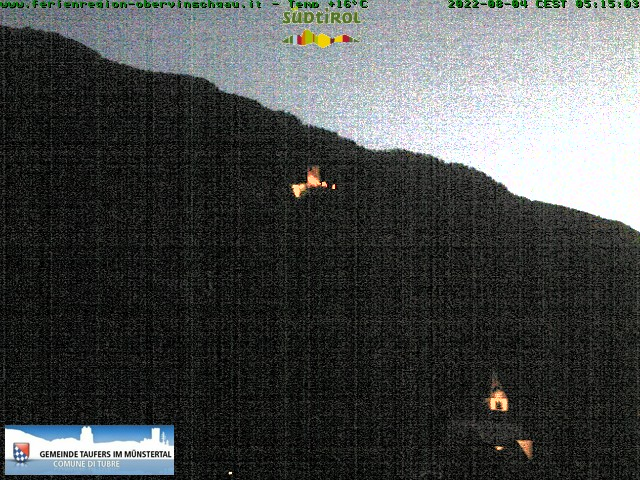 Webcam Taufers i.M. / Tubre